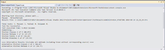 OpenCover UI - Visual Studio Marketplace